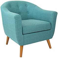 Rockwell Fabric Accent Chair by LumiSource Universal Lighting and Decor http://www.amazon.com/dp/B00SS2EICI/ref=cm_sw_r_pi_dp_R.E3vb1W1FDV2