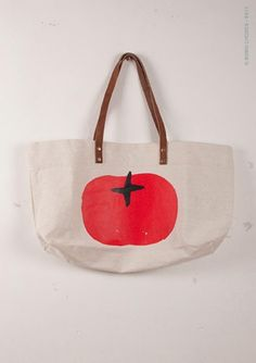 Bobo Choses Tomato Tote // at Darling Clementine