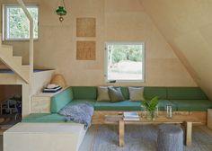 Leo Qvarsebo designs himself a triangular summer house
