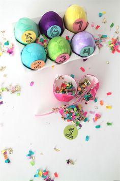 DIY Confetti Eggs Ea