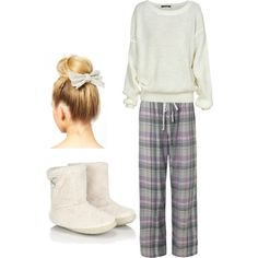 """""""Pajama day"""" by rdevlin234 on Polyvore"""