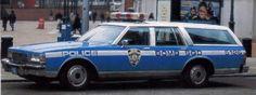 NYPD Bomb SQD 5126 Chevy Caprice Wagon