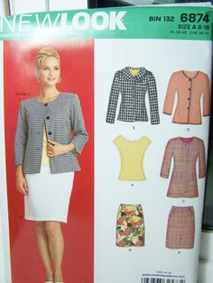 New Look Simplicity 6874 Women's Pattern   High by WitsEndDesign