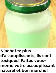 N'achetez plus d'assouplissants, ils sont toxiques! Faites vous-même vo… Do not buy more fabric softeners, they are toxic! Make yourself your natural and cheap fabric softener! Natural Cleaning Solutions, Deep Cleaning Tips, House Cleaning Tips, Natural Cleaning Products, Cleaning Hacks, Clean Baking Pans, Glass Cooktop, Homemade Cosmetics, Clean Dishwasher