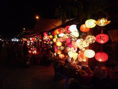 #HoiAn is famous for its #lanterns. Here we have some!