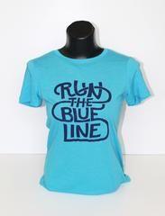 Next Level Women's Turquoise Tri-blend Crew