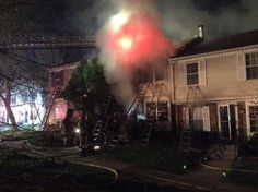 https://flic.kr/s/aHskxj9PQc | Gaithersburg Townhouse Fire Leaves One Dead | Around 10 p.m. on Tuesday, March 29, MCFRS units were dispatched for a reported townhouse fire in the 1800 block of Windjammer Way in Gaithersburg. Firefighters arrived on scene and found heavy fire conditions in a two-story, middle of the row townhouse. More: mcfrs.blogspot.com/2016/03/gaithersburg-townhouse-fire-le...