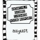 This is a book report assignment for Grade 6 and above. It is part of a series of monthly themed book reports by fiction genres. This book report...