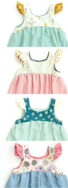 Baby clothes should be selected according to what? How to wash baby clothes? What should be considered when choosing baby clothes in shopping? Baby clothes should be selected according to … Baby Girl Fashion, Kids Fashion, Sewing Clothes, Doll Clothes, Little Girl Dresses, Girls Dresses, Vêtement Harris Tweed, Baby Dress, The Dress