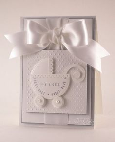 4/9/2009; Becca Feekan on the 'Just Rite Stampers' blog; Elegant Baby Cards