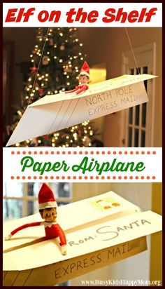 "Welcome Back Elf Are you looking for a way to welcome your ELF with a wow?  We've done some creative ones before…. the mailbox, a ""hot air"" balloon.  But this one is my favorite.  It's simple and is a great way to launch your December with the Elf. Elf on the Shelf!  On the lookout for some …"