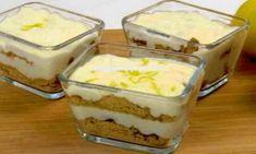 Deliciosa sobremesa de limão com bolachas Maria em 5 minutos e sem forno!