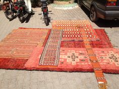 Shopping for rugs in Marrakech, Morocco