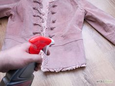 How to Spot Clean Suede How To Clean Suede, How Do You Clean, Diy Cleaning Products, Cleaning Hacks, Suede Jacket, Leather Jacket, Leather Cleaning, Spot Cleaner, Suede Leather