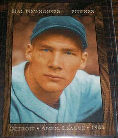 1946 HAL NEWHOUSER DETRIOT HOFer FREE SHIPPING$3.99