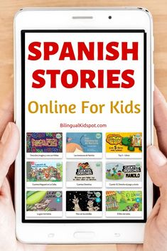 A list of sites where you can read and listen to Spanish stories for kids. Lots of FREE resources available! Learning Spanish For Kids, Teaching Spanish, Teaching Kids, Kids Learning, Language Study, Learn A New Language, Reading For Beginners, Learn To Speak Spanish, Spanish Lessons