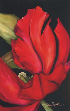 Karen Sistek.   Painting on Silk