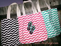 Disney Themed Embroidered Pink Black or Aqua Chevron by AvaBabyCo, $22.00