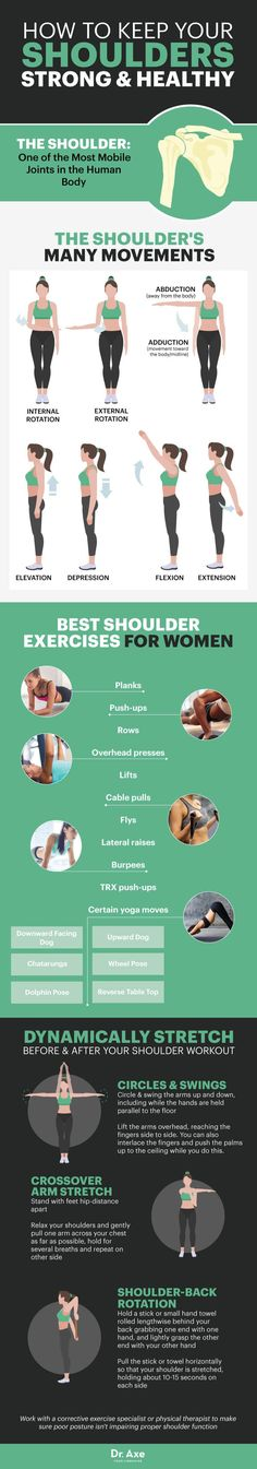 Shoulder workouts for women - Dr. Axe