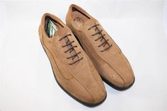NEW Gravity Defyer Mens Alastar Saddle Tan Casual Shoes 13 M Leather #GravityDefyer #CasualShoes