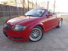 New 2001 Audi Tt Red 2