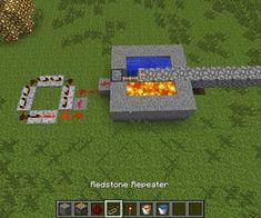 How to Make a Simple Automatic Minecraft Cobblestone Generator! - Minecraft World Minecraft Farmen, Minecraft Redstone Tutorial, Minecraft Redstone Creations, Minecraft Construction, Minecraft Blueprints, Minecraft Crafts, Minecraft Designs, Simple Minecraft Builds, Minecraft Banners