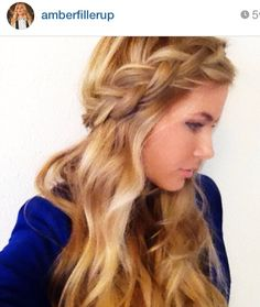 Amber fillerup // barefoot blonde // chunky braid