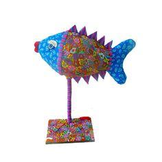 Fish sculpture by MIRAKRIS on Etsy, $110.00