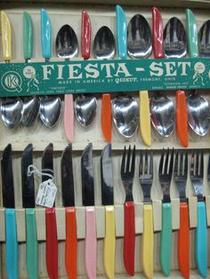 Kitschy Vintage Kitchen Utensils Visit my blog http://cdiannezweig.blogspot.com/ and my site http://iantiqueonline.ning.com/