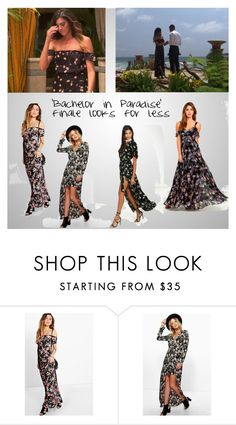 """Lace Morris on 'The Bachelor in Paradise' finale"" by sawit on Polyvore featuring Boohoo and LULUS"