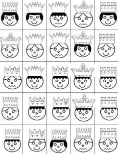 """Thème de Janvier : """"Roule galette"""", les rois et les reines - Activités pour la Grande Section Maternelle Petite Section, Grande Section, Mike The Knight, Dragon Party, School Themes, Prince And Princess, Fun Math, Kindergarten, Cricut"""