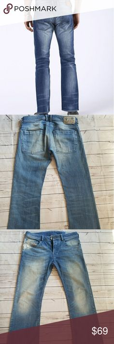 3f368252 DIESEL ZATHAN BOOT JEANS WASH 008W7 STRETCH 29 EXCELLENT CONDITION. DIESEL  ZATHAN BOOT JEANS.