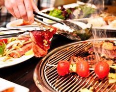 """Galbi; 210 Long street. """"Korean fusion Barbecue"""" This is the place for a perfect first date! You have to grill the awesome meat yourself and you'll definitally enjoy it! Delicious, diffrent and cool."""