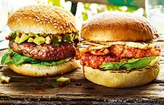 Vegetarian recipe: Cauliflower 'Steak' Burgers