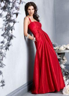 Belíssimo vestido vermelho!
