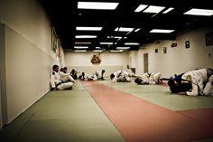 Jiu jitsu action