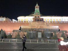 Mausoléu do Lenin -Praça Vermelha - Moscou by night