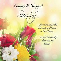 Have a Blessed Sunday 20.12.2015