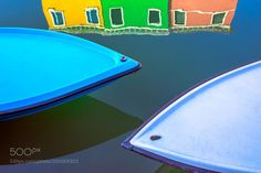 Popular on 500px : Burano Reflections by jimnilsen