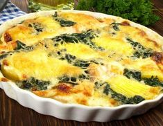 ♨ Spinach and Goat Potato Gratin Recipe Vegetable Recipes, Vegetarian Recipes, Healthy Recipes, Kitchen Recipes, Cooking Recipes, Potato Gratin Recipe, Italian Vegetables, Lunch Meal Prep, Healthy Cooking