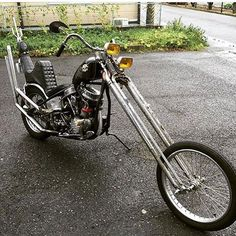 chopperinspiration:  chopcult:  Check out this sick panhead by @lcfcfl648 #panhead #choppers #chopcult   Panhead chopper
