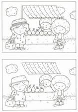 None Kindergarten Activities, Activities For Kids, Spot The Difference Puzzle, Restaurant Themes, Hidden Pictures, Preschool At Home, Pre Writing, Activity Sheets, Puzzles For Kids