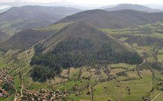 Valle de las Pirámides de Bosnia y Herzegovia.