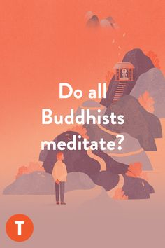 Did you know that up until the 20th century it was rare for a Buddhist layperson to practice meditation? Meditation Practices, Guided Meditation, Buddhism For Beginners, Lotus Sutra, Buddhist Traditions, Buddhist Teachings, Tibetan Buddhism, He Is Able, Helping People