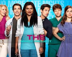 new favorite comedy...really coming into its own in  season 2! I want to know when the rest of the Office cast is going to guest star :) The Mindy Project Wallpaper