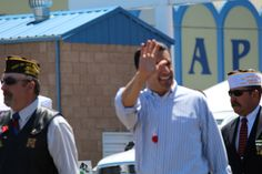 Governor Brian Sandoval at the Armed Forces Day Celebration  www.briansandoval.com
