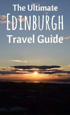 In this Ultimate Guide to discover Edinburgh, Scotland, you'll find everything from food and drinks, to coffee shops, photo spots and activities you shouldn't miss