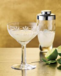 Daiquiri Recipe on Food & WineIce 2 ounces white rum 3/4 ounce fresh lime juice 3/4 ounce Simple Syrup