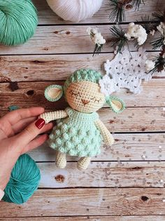 Mesmerizing Crochet an Amigurumi Rabbit Ideas. Lovely Crochet an Amigurumi Rabbit Ideas. Crochet Sheep, Crochet Diy, Crochet Patterns Amigurumi, Crochet Animals, Crochet Dolls, Knitting Patterns, Crochet Hats, Easter Crochet, Stuffed Animals