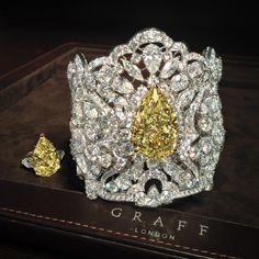 GRAFF YELLOW DIAMOND CUFF